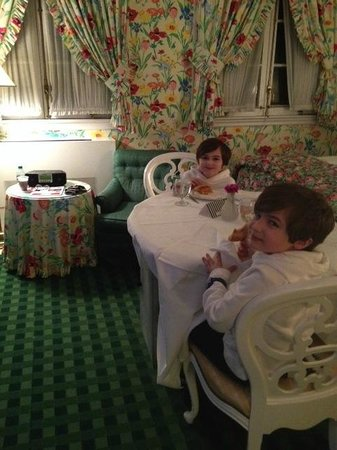 The Greenbrier: Room Service