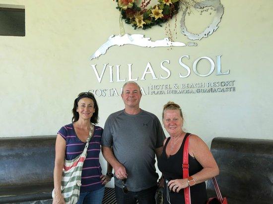 Villas Sol Hotel & Beach Resort: belle rencontre
