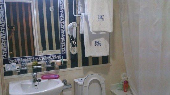 HRC Hotel: para mi la limpieza del baño es lo mas importante
