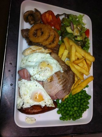 Llanelli, UK: the star mix grill