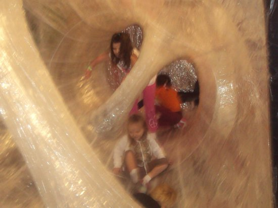 Children's Museum of Pittsburgh : tape structure exhibit - so cool