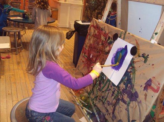 Children's Museum of Pittsburgh : future artist