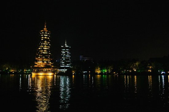 Wendy Wei Tours: Guilin at night