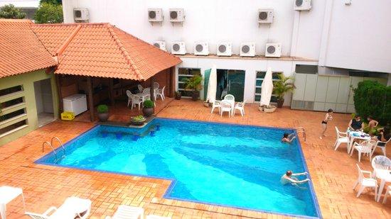 Paraná Palace Hotel: Piscina