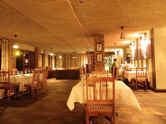 Rest camp restaurant