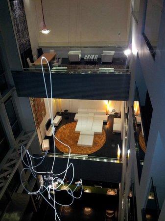 Axor Barajas Hotel: Vista desde el hall