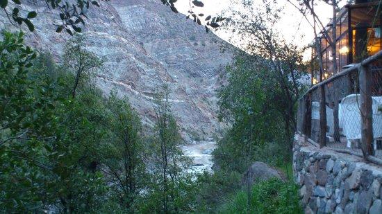 Cascada de las Animas: Vista