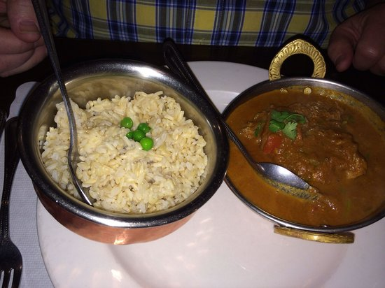 Namaste Kitchen: Brown rice and Jholawala Murgh (chicken curry)