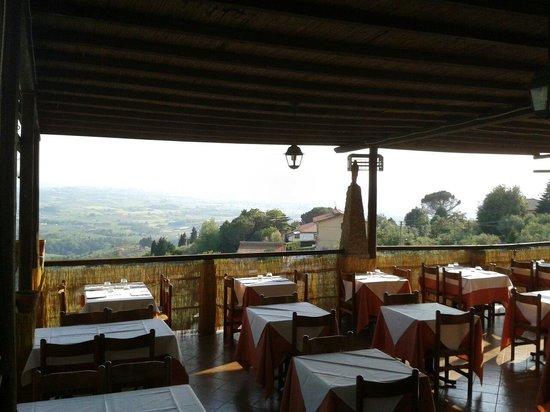 Il Castaldo: Terrazza panoramica
