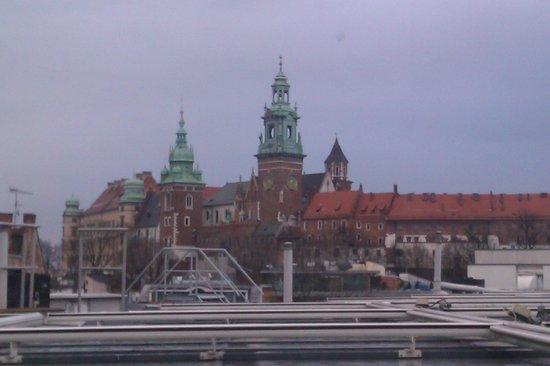 Sheraton Grand Krakow: Utsikten från rummet
