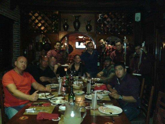 Bovino's Churrascaria: Private Cantina Room