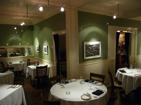 Cafe Beaujolais: A View of the Dining Room