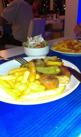 Bodrum Holiday Resort & Spa : kolacyjka