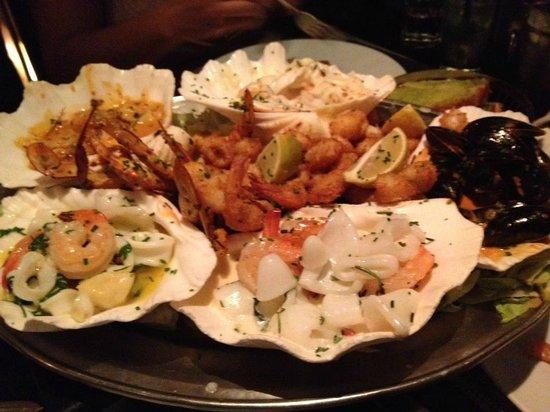 Pago Pago : Sea food plate