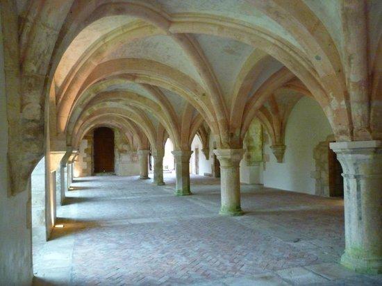 Abbaye de Fontenay: La salle capitulaire