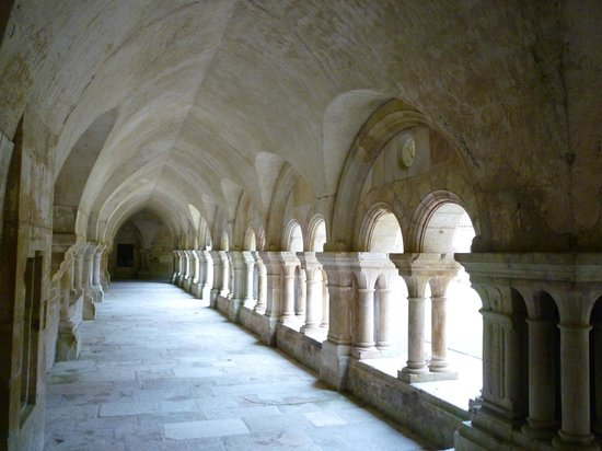 Abbaye de Fontenay: Le cloître