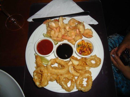 Patio Havana : Camarones y Calamares en 3 salsas