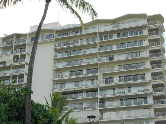 Waikiki Shore: PH 3 is upper left hand room