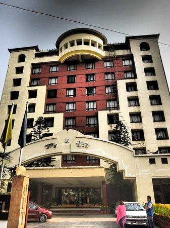 Grand Hotel Kathmandu: The front