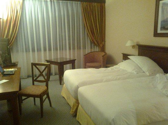 Hilton Strasbourg : chambre 2