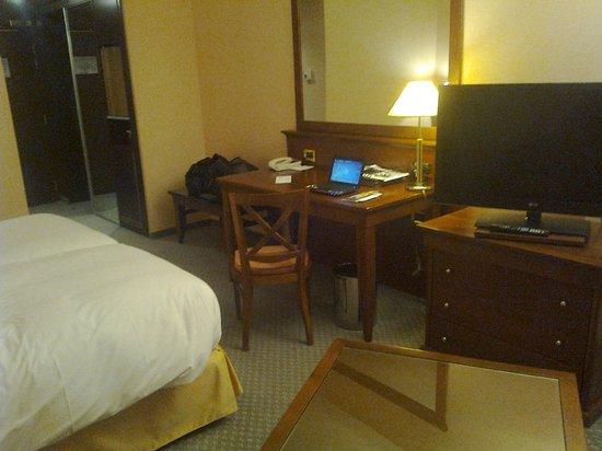 Hilton Strasbourg: chambre 1