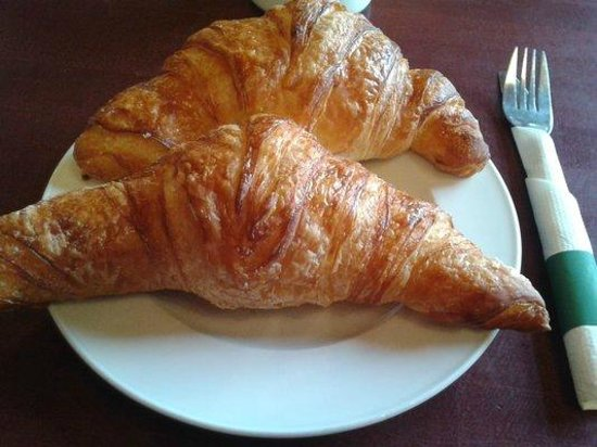 Bonaparte Breads: Massive house made croissants with a crisp buttery exterior and tightly wound soft interior. ($2