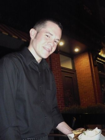 Forum: Liam, the friendly waiter