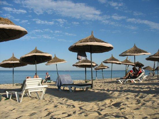 Tej Marhaba Hotel : Private beach
