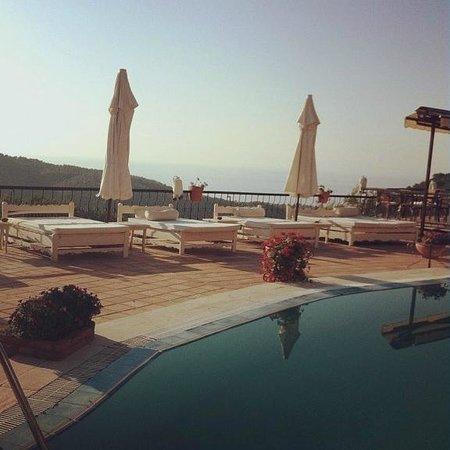 Ongen Country Hotel : havuz başı