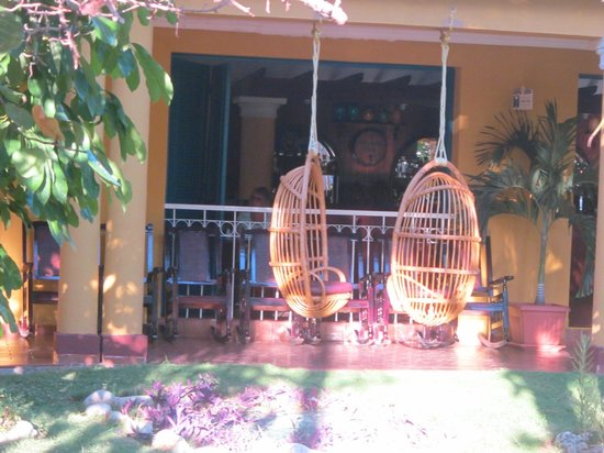 Brisas Trinidad del Mar: le patio