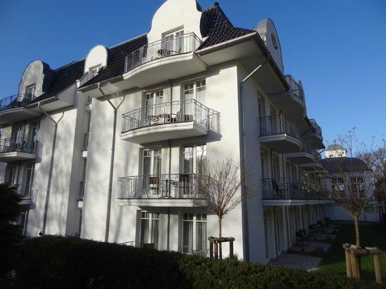 Hotel Vier Jahreszeiten Kühlungsborn: Balkon von Suite 144 (Mitte)