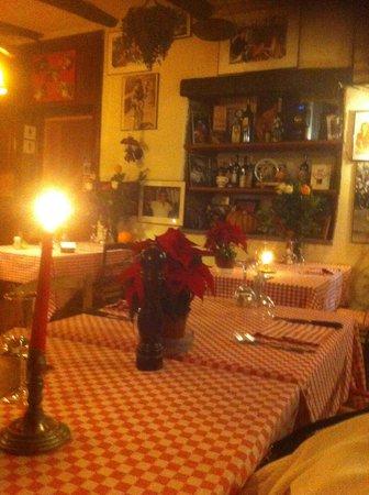 Grotto Pan Perdu: tavolo