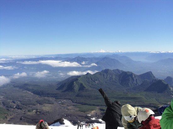Elementos Turismo Experiencial: La vista del volcán
