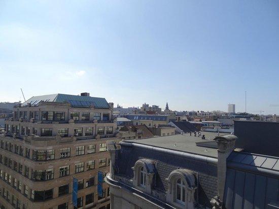 BEST WESTERN Hotel Royal Centre : Вид с балкона номера