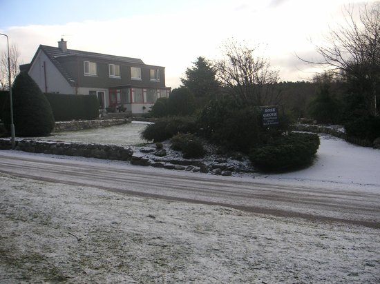 A wintery Rosegrove Guest House