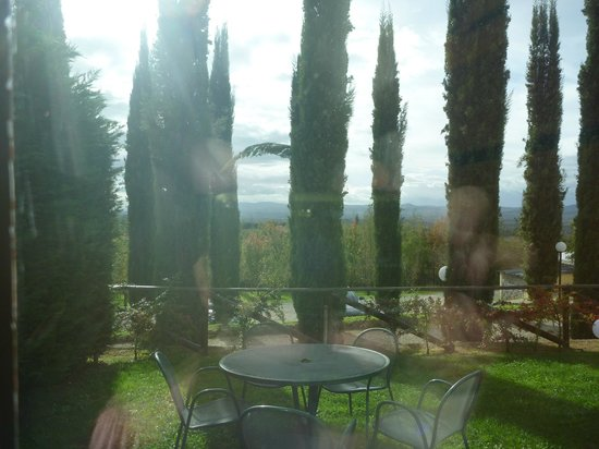 Relais Villa Petrischio: View from our parlor