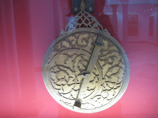 Musée National du Bardo : Бронзовая астролябия. 18 век