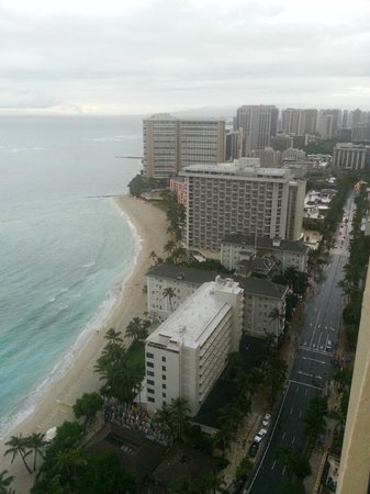 Hyatt Regency Waikiki Resort & Spa: Ocean Front from Balcony view