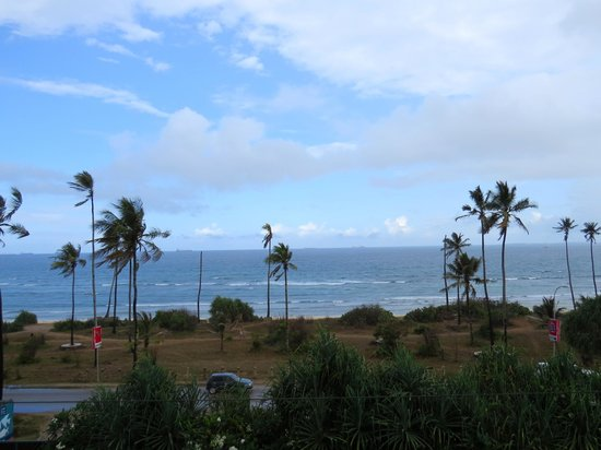 The Oyster Bay Hotel: Indian Ocean-- view from our room