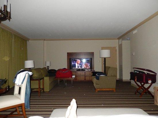 Hyatt Regency Orlando: huge room (2705 I guess)