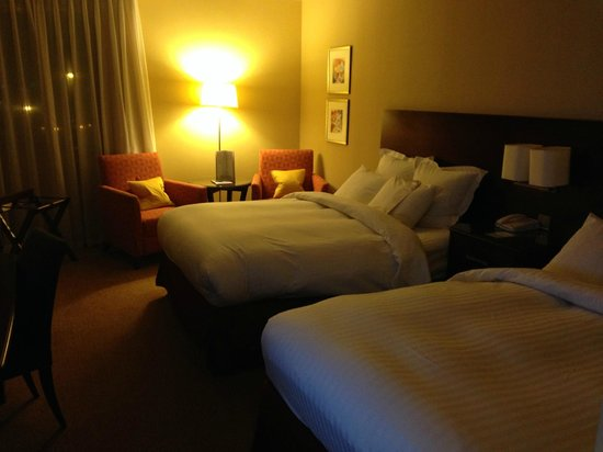 Leicester Marriott Hotel: Spacious room