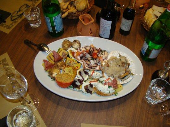 Hilton Molino Stucky Venice Hotel : Aromi Rest Food Starter