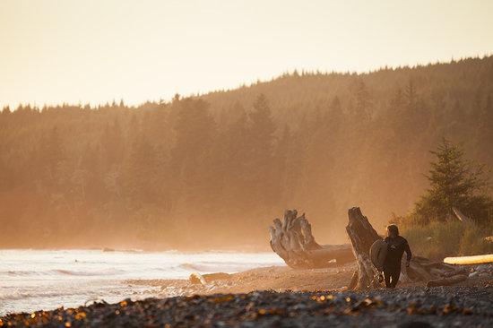 Victoria, Canada: Sombrio Beach Surfing at Sunset