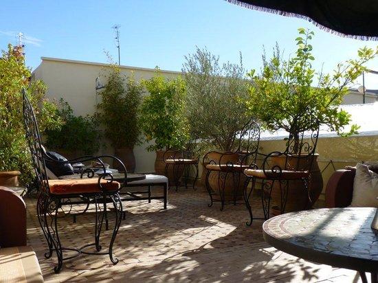 Riad Maison Belbaraka: Roof garden