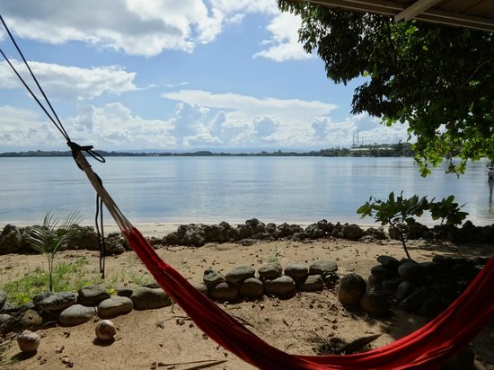 Pukalani Hostal : Hammocks and beach