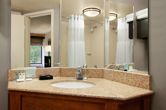 Hampton Inn Cadillac: Guest Room - Bathroom