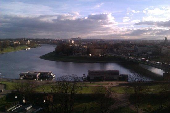 Cafe Oranzeria: Utsikten mot floden