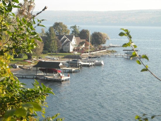 The Inn at Glenora Wine Cellars: Glenora on Seneca Lake