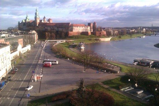 Cafe Oranzeria: Utsikten mot slottet