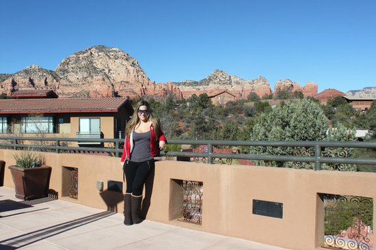 Sedona Rouge Hotel and Spa: View From Terrace